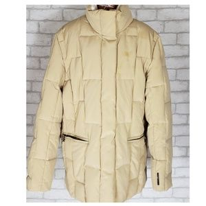 ZeroXposure Tan Down Puffer Coat Large